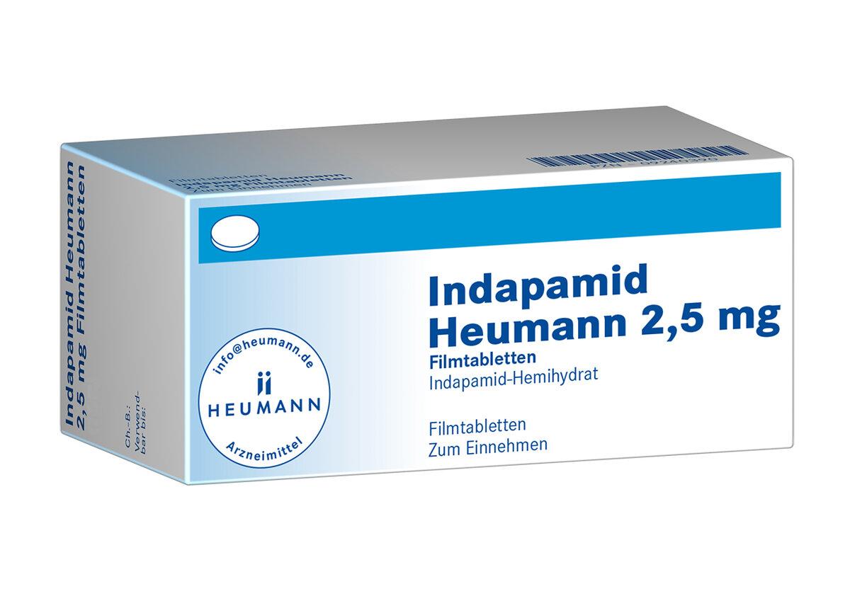 Indapamid Heumann 20,20 mg Filmtabletten
